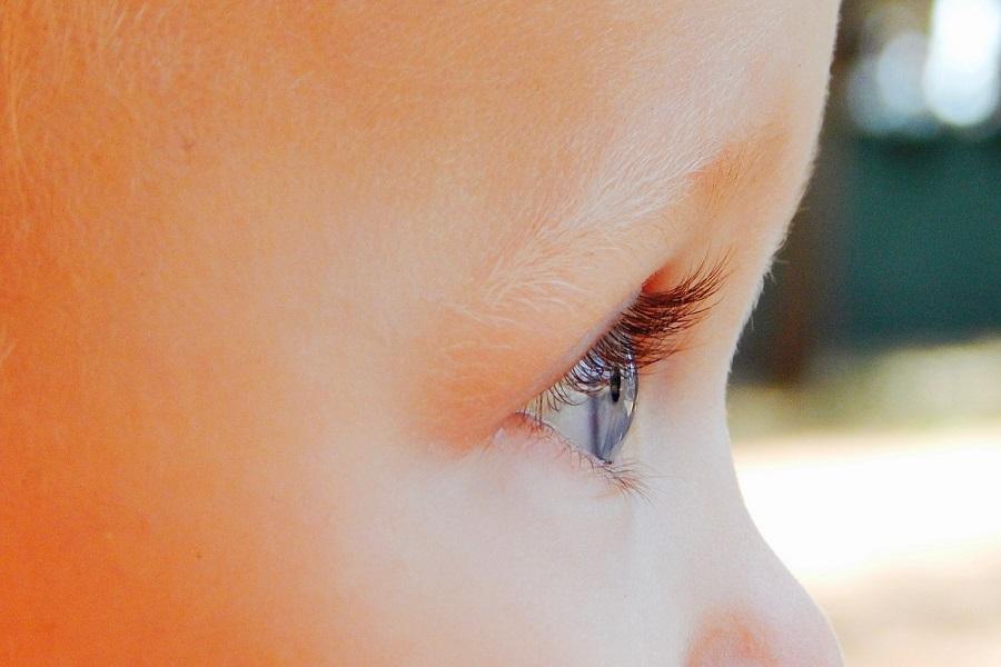 barn-öga