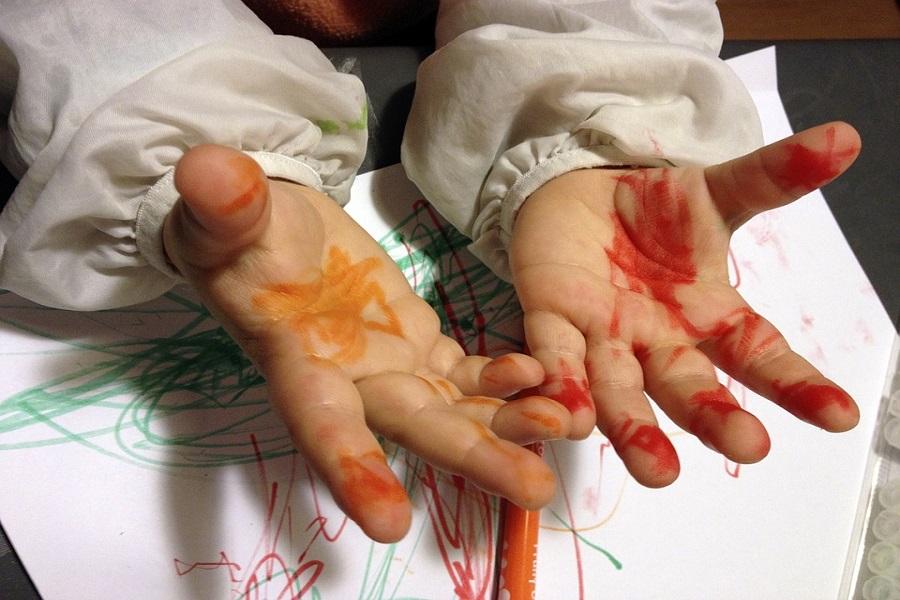 barn-målarfärg